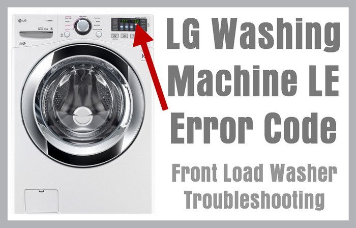 LG-Washing-Machine-LE-Error-Code